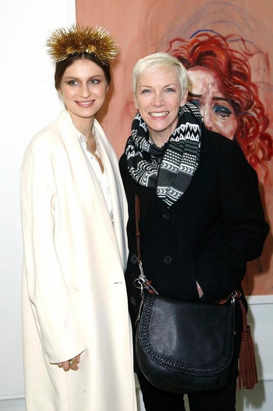 Annie Lennox s dcerou Tali