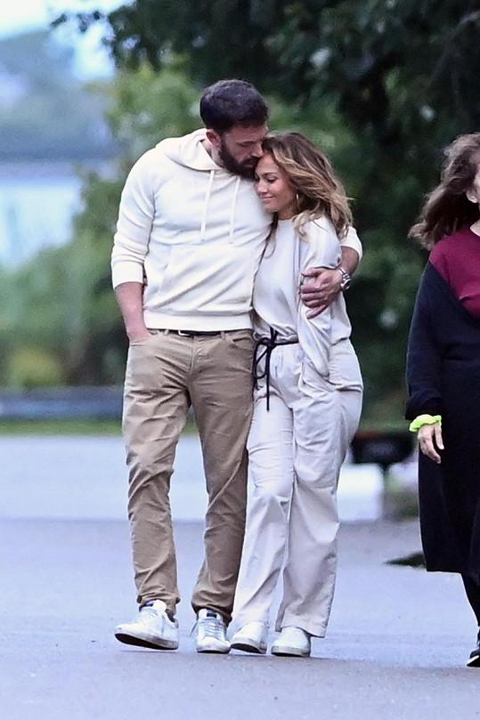Jennifer Lopez a Ben Affleck cukrovali v Hamptons.