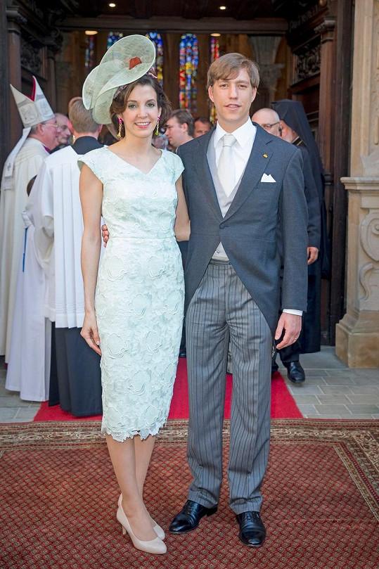 Princ Louis Lucemburský a princezna Tessy oznámili rozvod.