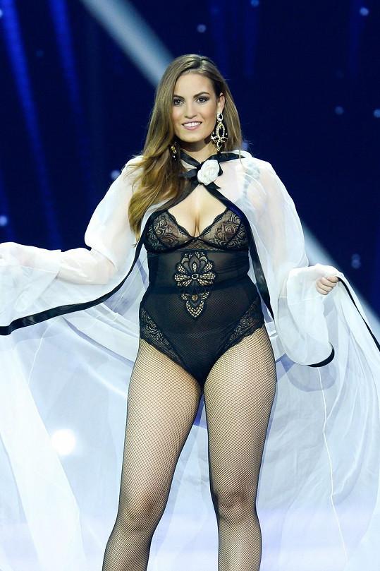 Dominika byla příjemným zpestřením Miss Slovensko.