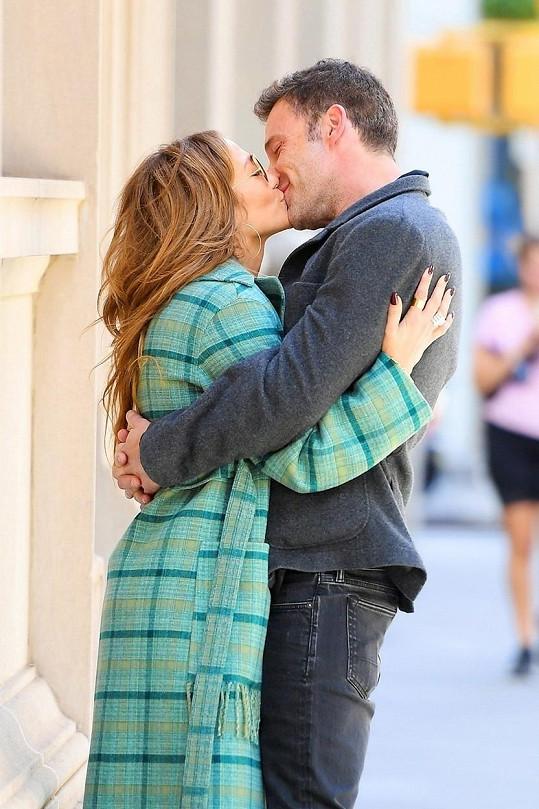 Jennifer Lopez a Ben Affleck cukrovali v New Yorku.