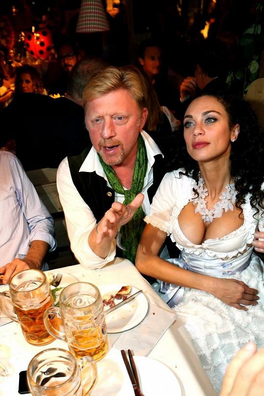 Lilly Becker byla ozdobou letošního Oktoberfestu.