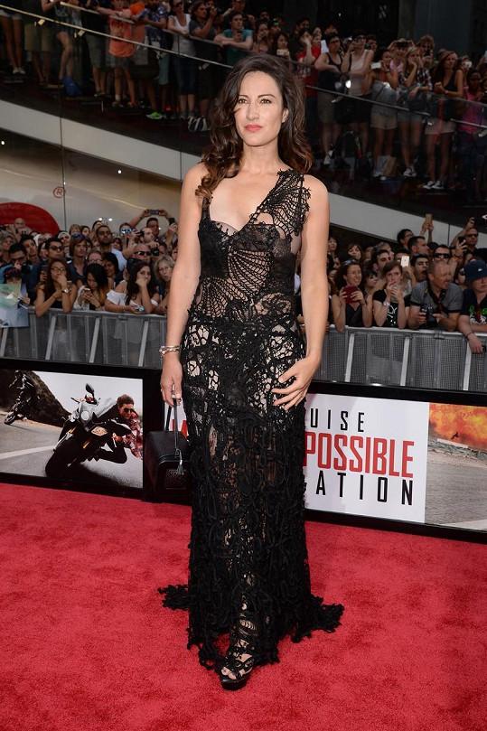 America Olivo se po boku Toma Cruise objeví ve filmu Mission Impossible - Národ grázlů.