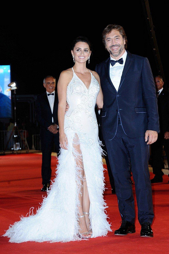 Manželé Penélope Cruz a Javier Bardem