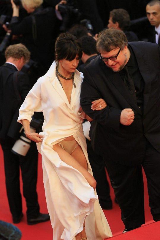 Kalhotky francouzské herečky Sophie Marceau vyděsily všechny přítomné.