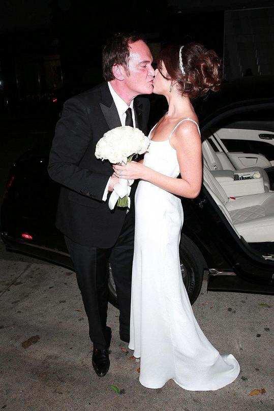 Quentin s Daniellou se vzali po dvou letech vztahu.