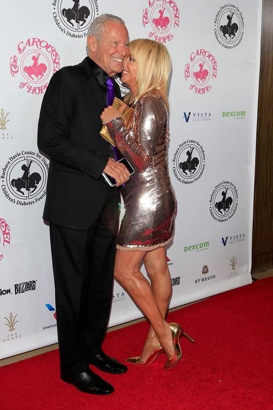 S manželem Alanem na The Carousel of Hope