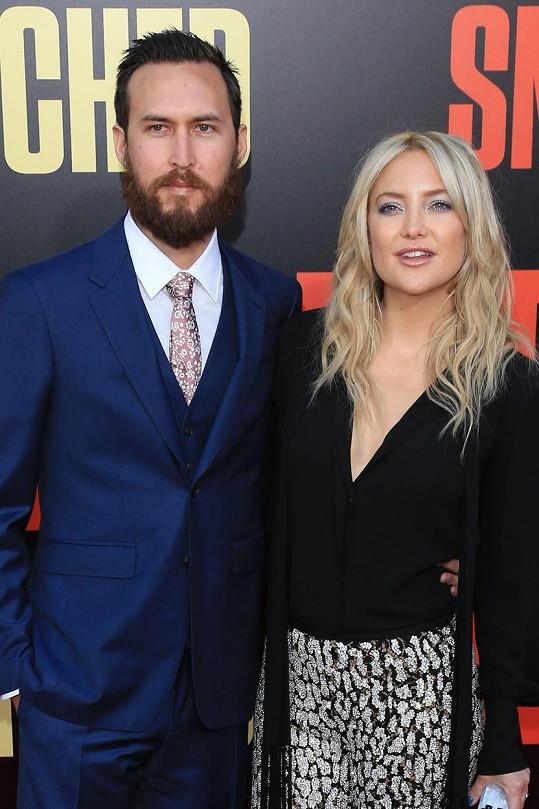 Kate s Dannym se jako pár představili oficiálně až na hollywoodské premiéře filmu Dámská jízda.