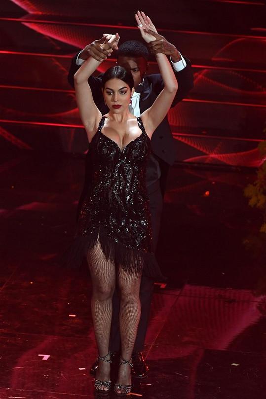 Předvedla i skvělé taneční vystoupení.