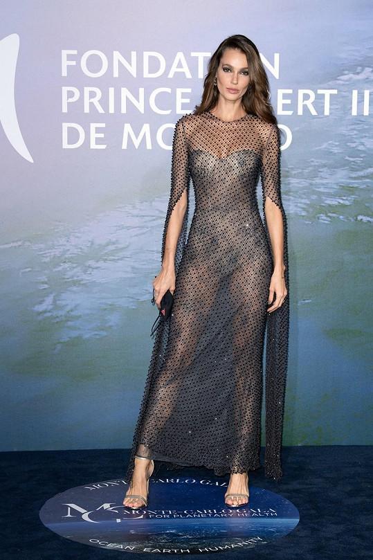 Brazilská modelka Sofia Resing zvolila velice průhledný model