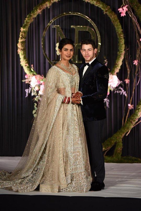 Priyanka Chopra a Nick Jonas měli opravdu pompézní svatbu.