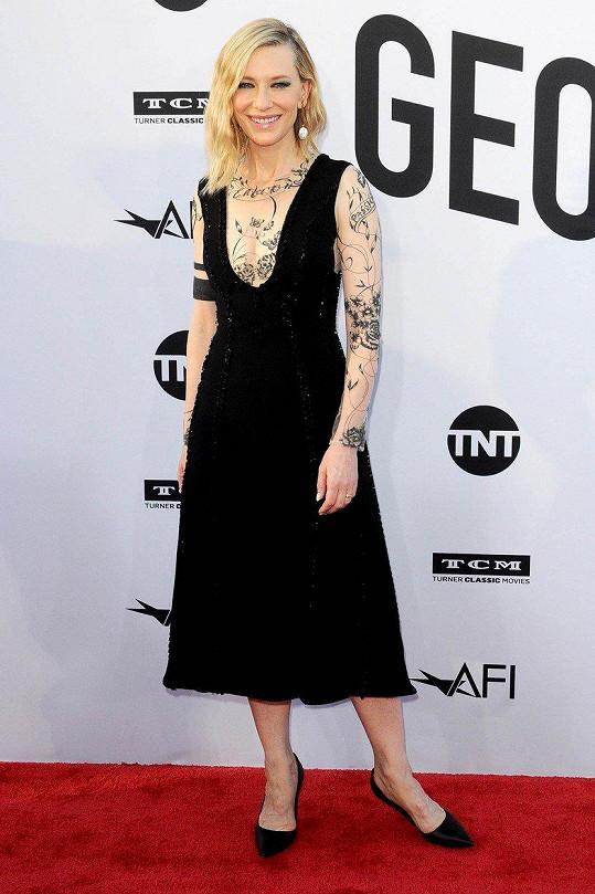 8. Cate Blanchett - 12,5 miliónu dolarů