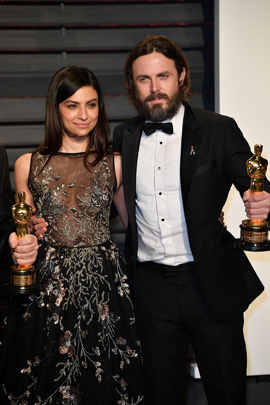 Na Oscarech už jej doprovázela Floriana Lima.