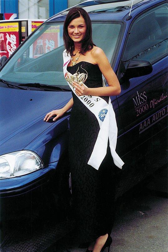 Míša Salačová se roku 2000 stala Miss ČR.