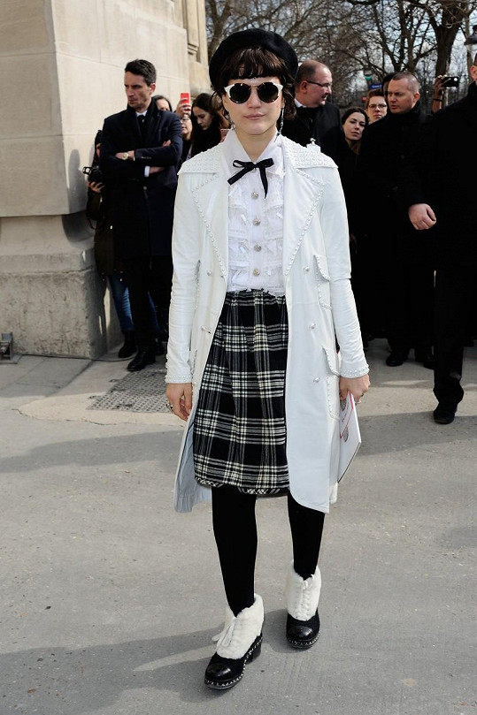 Soko má specifický módní vkus, což nejspíš Kristen zaujalo.
