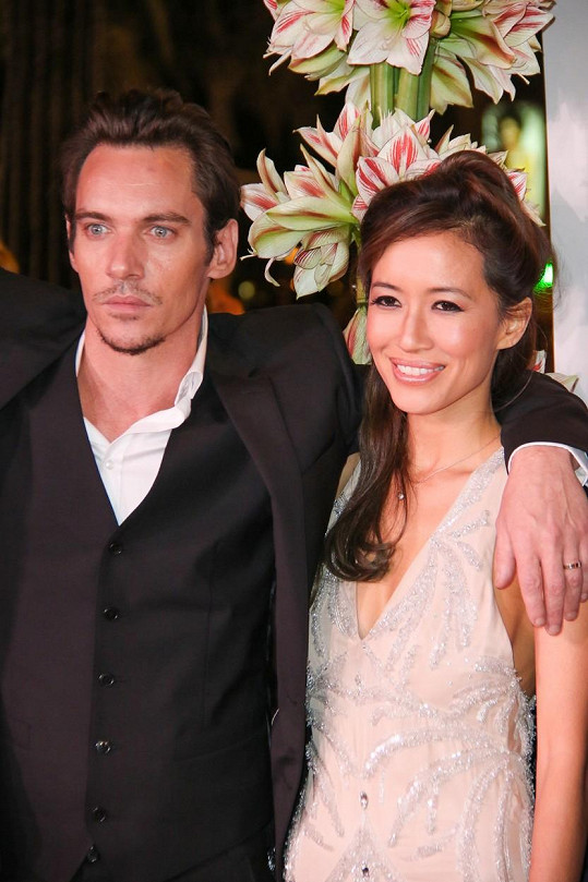 S manželkou Marou Lane