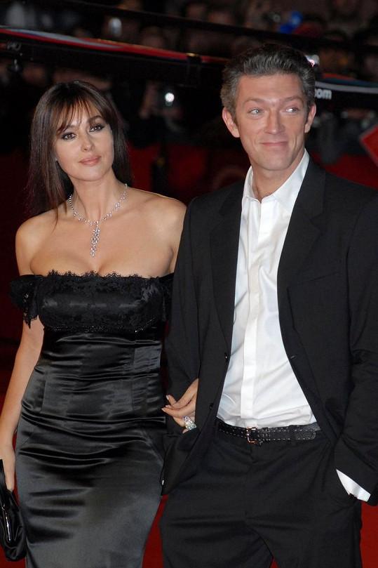 První ženou Vincenta Cassela byla modelka a herečka Monica Bellucci.
