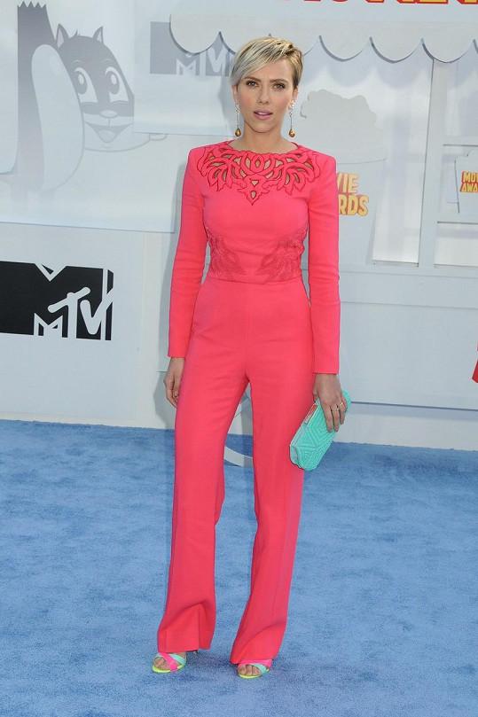 Scarlett na udílení MTV Movie Awards