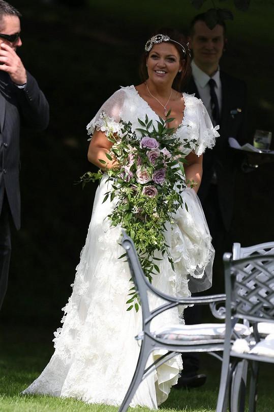 Johannah se před dvěma lety vdávala.