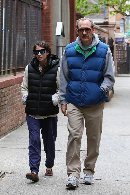 Terry Richardson s partnerkou Alexandrou Bolotow