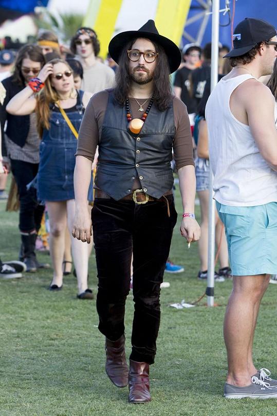 Sean zavítal na festival Coachella.