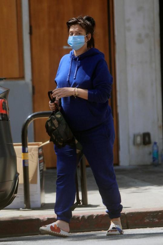 Jenn měsíc před porodem