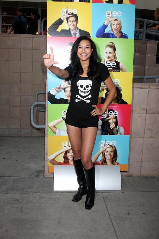 Rivera účinkovala v seriálu Glee.