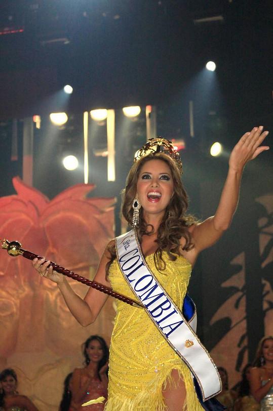 Modelka a podnikatelka s módou získala v roce 2011 korunku pro kolumbijskou královnu krásy.