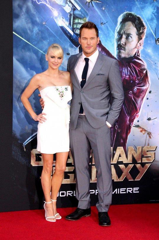 Chris Pratt a Anna Faris