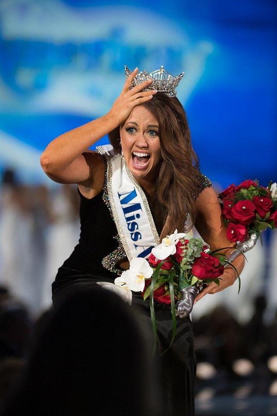 Letos zvítězila Miss Severní Dakota Cara Mund (23).