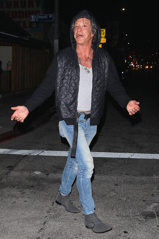 Herec o víkendu navštívil známý hollywoodský noční podnik.