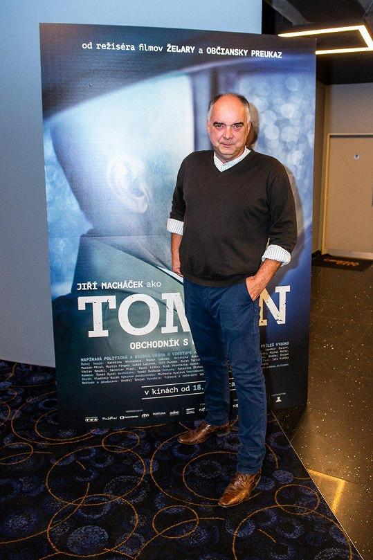 Režisér Ondřej Trojan už svůj film Toman představil v Česku i na Slovensku, nyní míří do USA.