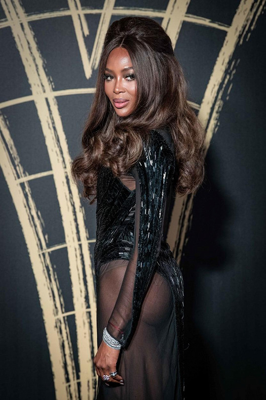 Naomi Campbell je ikonou světového modelingu.
