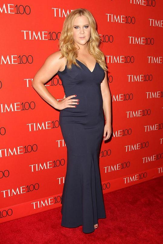 Amy Schumer na akci magazínu Time