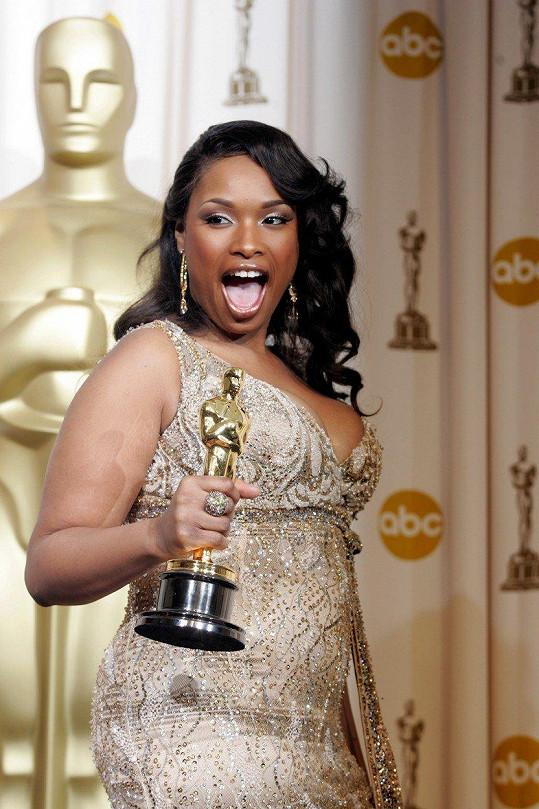 Oscara ale v roce 2007 převzala jako boubelka.