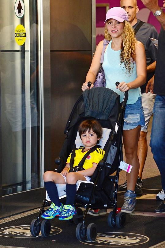 Shakira nešetřila úsměvy.