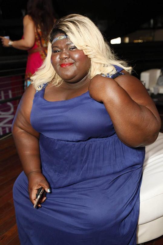 Gabourey Sidibe chtěla být blondýnka.