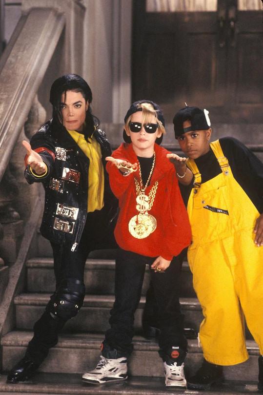 Michael Jackson a Macaulay Culkin se roky přátelili.