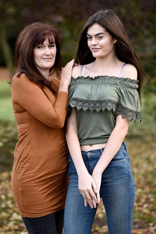 Amelie s maminkou Diane
