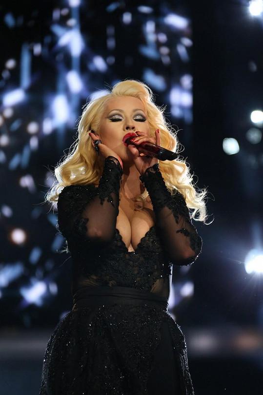 Takhle vypadá Christina Aguilera půl roku po porodu.