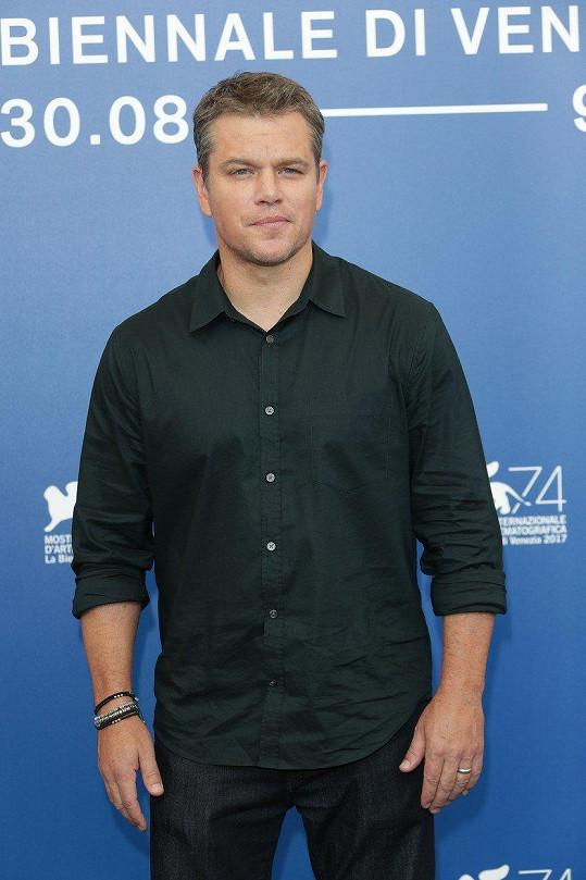 Matt Damon má v soutěžní sekci dva filmy.
