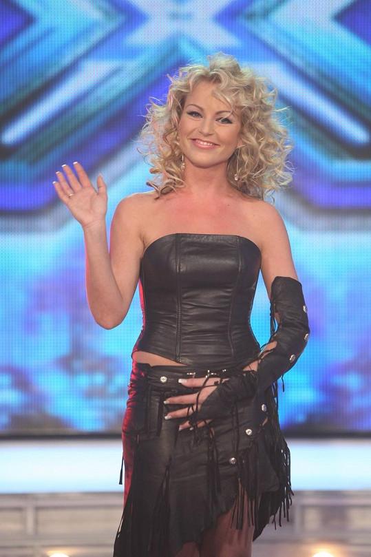 Martina Pártlová 2008 se proslavila v soutěži X-Factor.