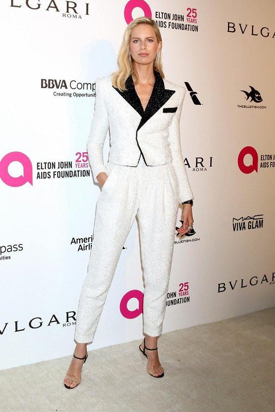 Charitu Eltona Johna přišla podpořit také Karolína Kurková.
