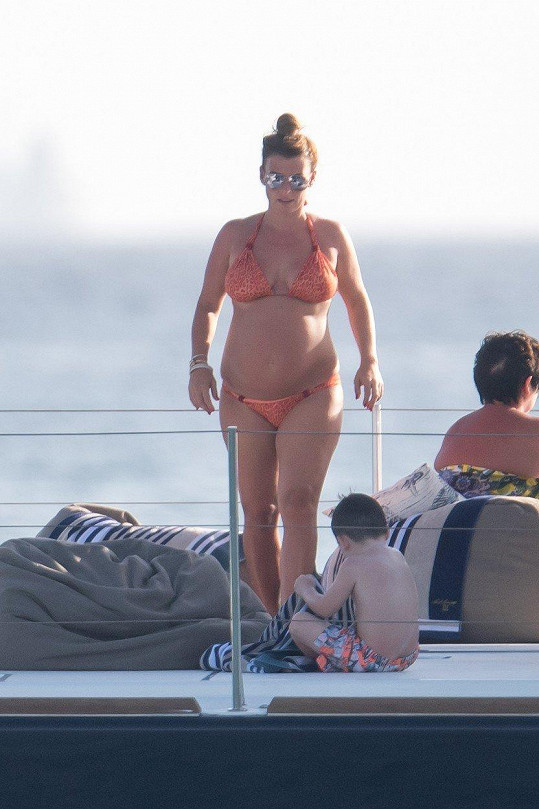 Coleen Rooney relaxuje na Barbadosu.