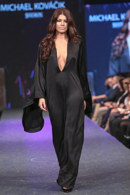 Karolína Chomisteková zářila na bratislavském týdnu módy.