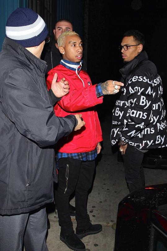 Rapper před týdnem vyrazil s kamarády na striptýz.