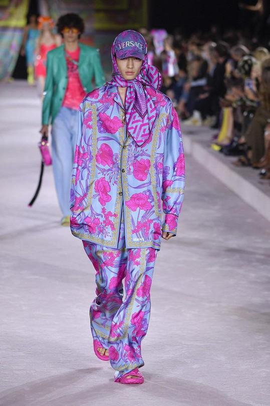 Přehlídka Versace na milánském týdnu módy