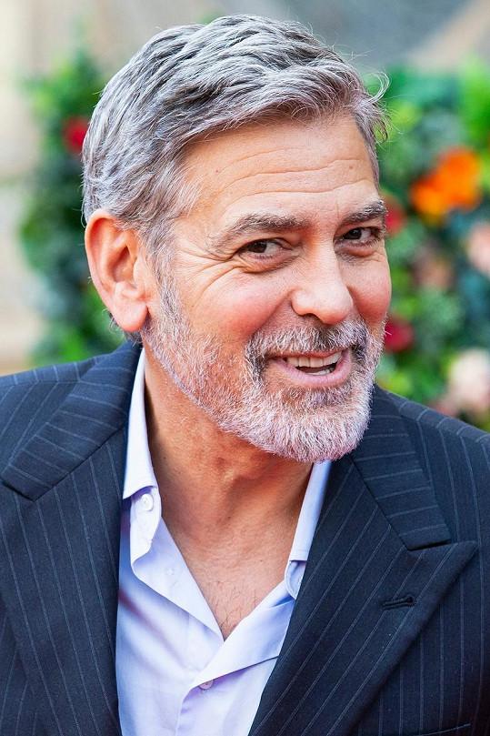 George Clooney je velmi štědrý kamarád.