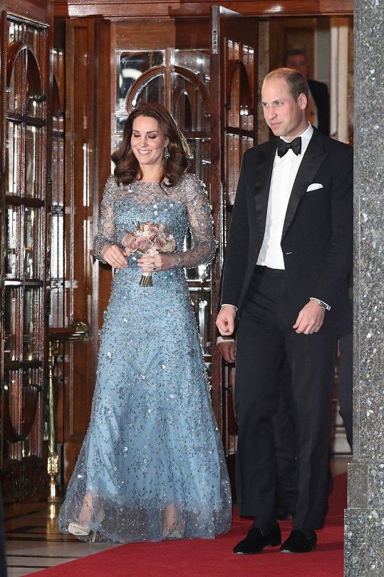 Královský pár byl dobře naladěn.