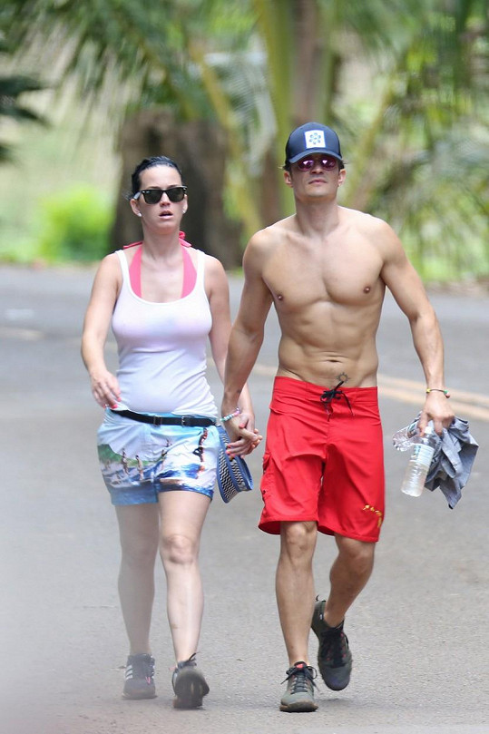 Orlando Bloom odjel s Katy Perry na Havaj.